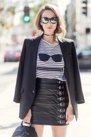 Alexandra Lapp street style in LA