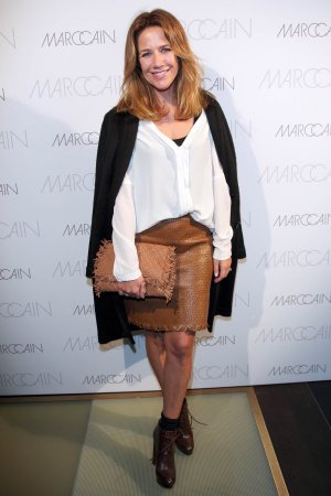 Alexandra Neldel attends MBFW-Marc Cain Fashion Show