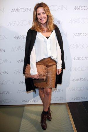 Alexandra Neldel attends MBFW-Marc Cain Fashion Show