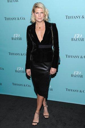 Alexandra Richards attends the 150th anniversary of Harper's Bazaar