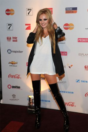 Alexandra Stan at Music Meets Media 2011