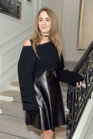 Alexia Niedzielski attends the Christian Dior Haute Couture FW show