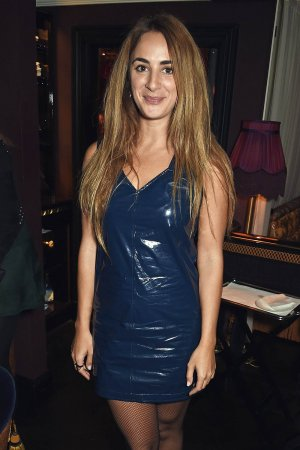 Alexia Niedzielski attends the Moncler Freeze For Frieze Dinner Party