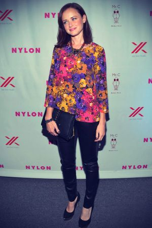 Alexis Bledel attend the Nylon September TV Issue Launch Party