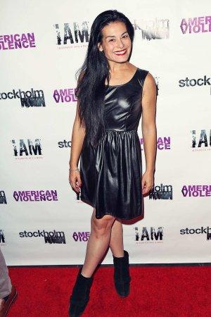 Alexis Iacono attends American Violence Los Angeles Premiere