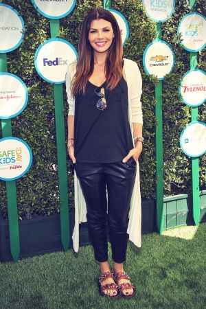 Ali Landry attends Safe Kids Day
