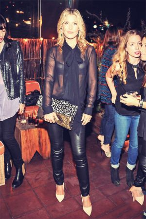 Ali Larter attends event hosted by Elle magazine and J Brand