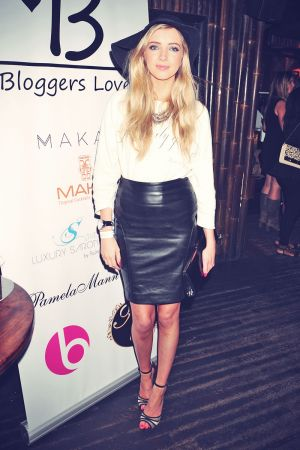 Alice Barlow at the Bloggers Love Secret Garden Event