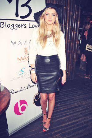 Alice Barlow at the Bloggers Love Secret Garden Event