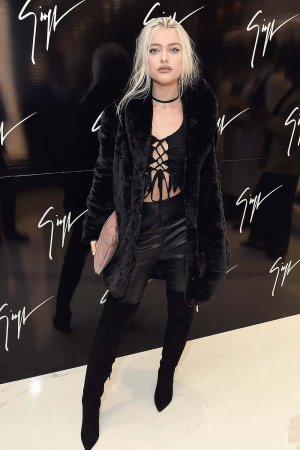 Alice Chater attends the Giuseppe Zanotti London flagship store launch