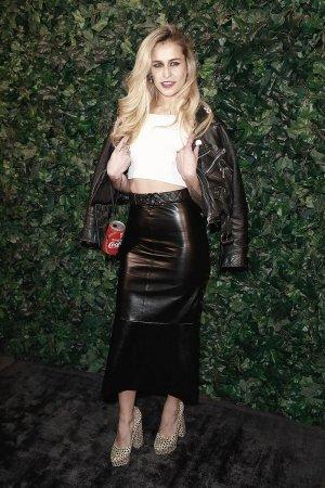 Alice Dellal attends a pre BAFTA party