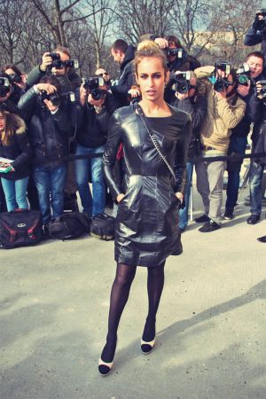 Alice Dellal attends the Chanel Fall/Winter 2013 Ready-to-Wear show