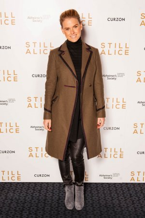 Alice Eve attends Charity premiere of Still Alice