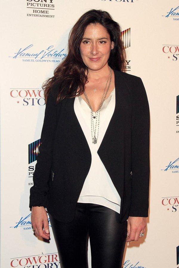 Alicia Coppola attends Premiere Of A Cowgirl's Story