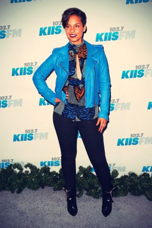 Alicia Keys during KIIS FM's 2012 Jingle Ball