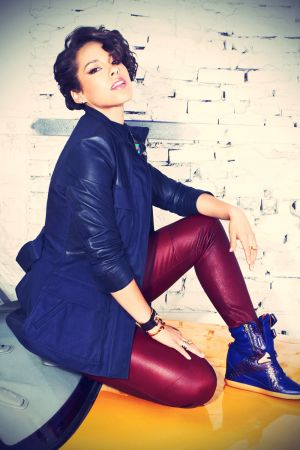 Alicia Keys for Reebok Alicia Keys Mid Cut Wedge Sneakers