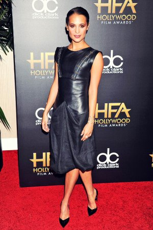 Alicia Vikander attends 19th Annual Hollywood Film Awards