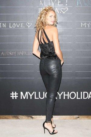Allie Silva attends Lucky Brand Celebrates Myluckyholiday