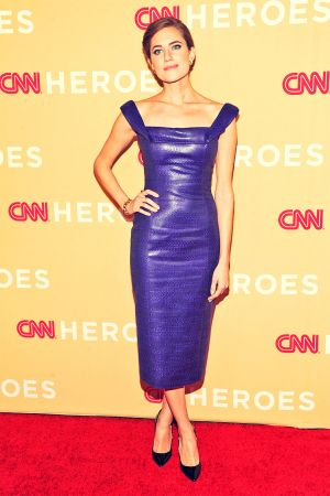 Allison Williams attends 2013 CNN Heroes An All Star Tribute