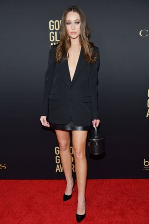 Alycia Debnam-Carey attends Golden Globe Ambassador Launch Party