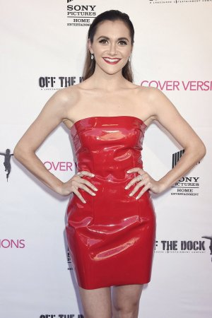 Alyson Stoner attends Cover Versions film premiere