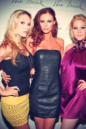 Alyssa Campanella at the Vivienne Tam Fall 2013 fashion show