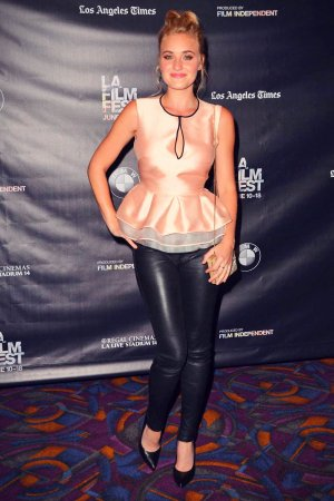 Amanda AJ Michalka attends Weepah Way for Now screening