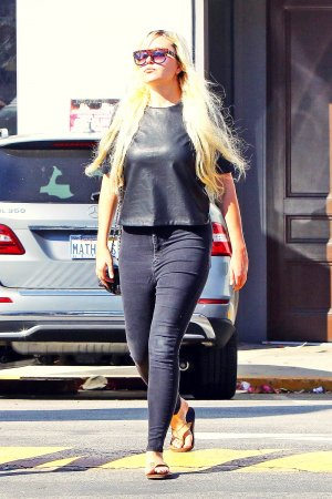 Amanda Bynes out in LA