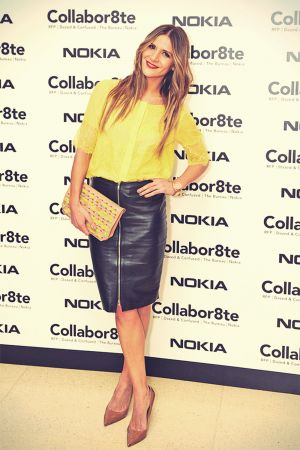 Amanda Byram attends Collabor8te Connected by NOKIA Premiere