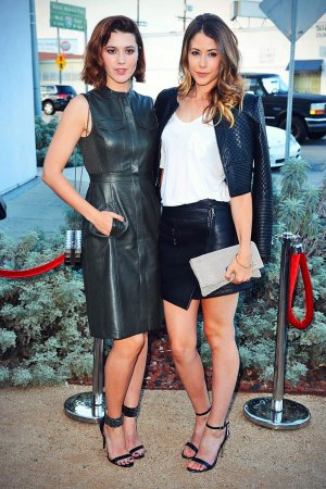 Amanda Crew & Mary Elizabeth Winstead attends BCBG Max Azria Resort 2016 collections