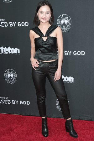 Amanda Grace Benitez attends Teton Gravity Research's 'Andy Iron's Kissed By God' World Premiere