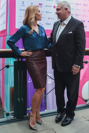 Amanda Holden at Festival of Marketing