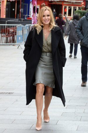 Amanda Holden at Global Radio