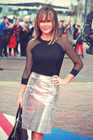 Amanda Holden attends Britain's Got Talent auditions