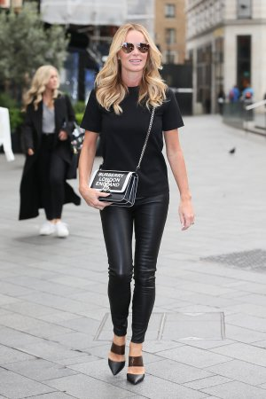 Amanda Holden seen at Global Studios