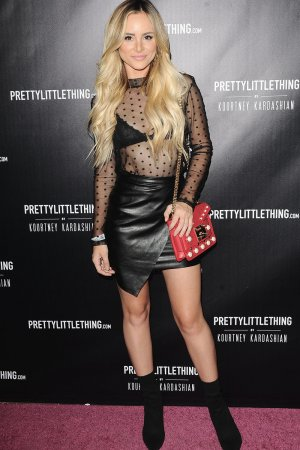 Amanda Stanton attends PrettyLittleThing Launch Party