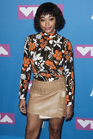 Amandla Stenberg attends MTV Video Music Awards