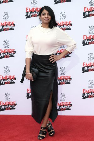 Amara Karan attends the THREE Empire awards