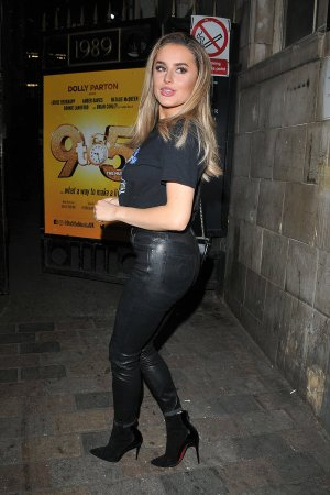 Amber Davies at Savoy Theatre