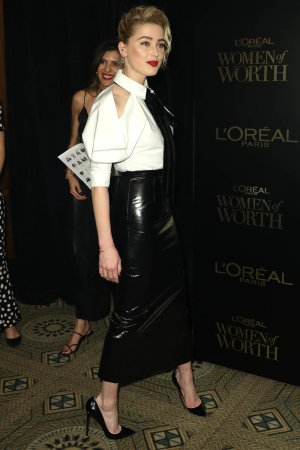 Amber Heard attends 14th Annual L'Oreal Paris Women Of Worth Awards