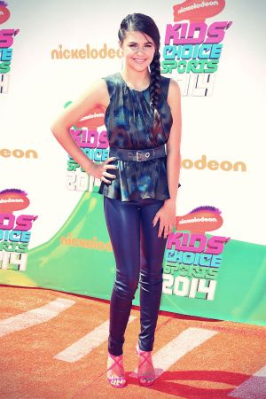 Amber Montana attemds Nickelodeon Kids Choice Sports Awards 2014