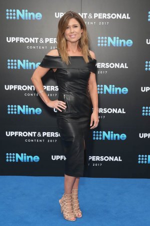 Amber Sherlock during the Channel Nine Upfronts