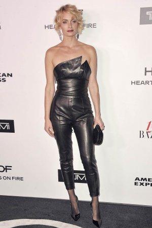Amber Valletta attends Harper's BAZAAR celebration of the 150 Most Fashionable Women