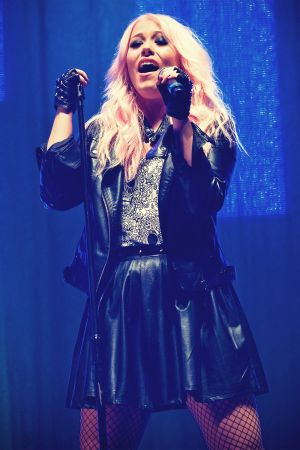 Amelia Lily attends Clyde 1 Live 2012