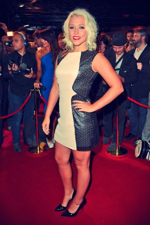 Amelia Lily attends the press night for The Commitments
