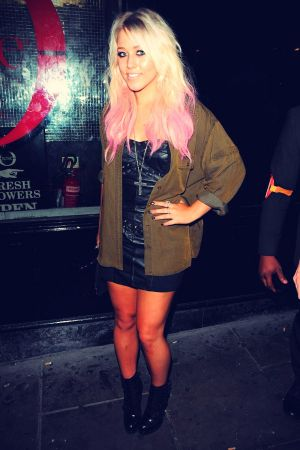 Amelia Lily enjoy a night out at the Rose Club