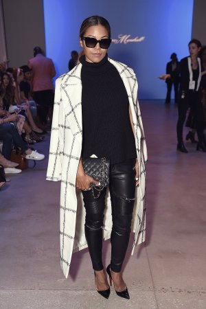 Amerie attends the Leanne Marshal fashion show