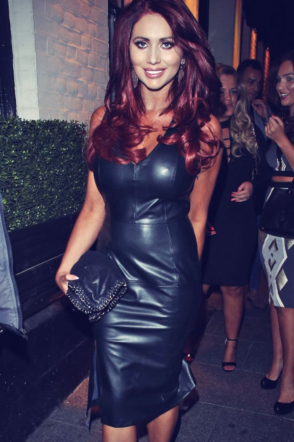Amy Childs arrives at Sugar Hut 10th Anniversary celebrations