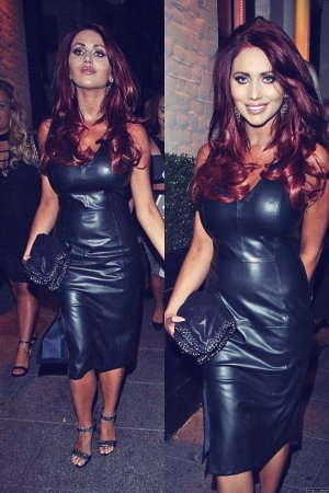 Amy Childs arrives at Sugar Hut in Brentwood for their 10th Anniversary celebrations