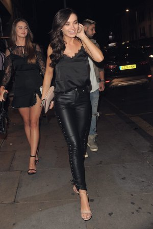 Amy Jackson leaving the Lipsy Dinner